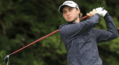 Canada's Connelly two strokes off lead at Open Championship