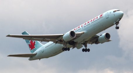 Cellphone sparks fire on Air Canada flight