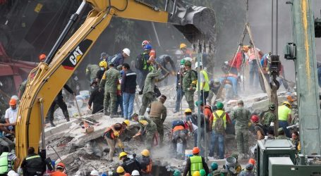 Body found at collapsed Mexico school; girl still trapped