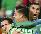 Portugal survive tough game in Hungary