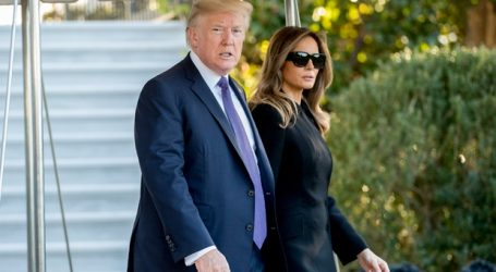 Trump says it's a 'sad day' as he heads to Las Vegas