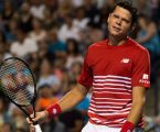 Raonic retires from match at Japan Open with calf injury