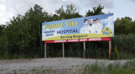 New Niagara Falls Hospital construction moves ahead