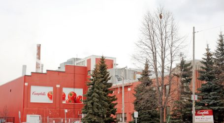 Campbell Soup to shut down 87-year-old Toronto facility, cut 380 jobs