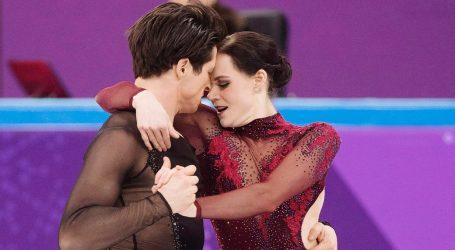 Canada wins gold medal in ice dancing
