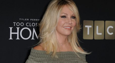 Actress Heather Locklear arrested in California