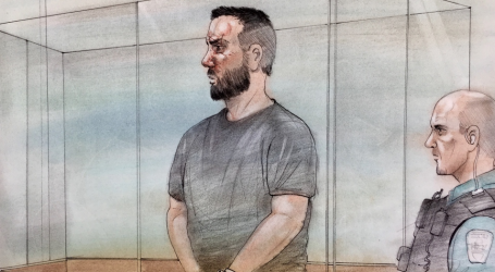 Man charged with second-degree murder in Ajax triple homicide appears in court