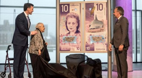 New $10 bill featuring civil rights activist Viola Desmond unveiled