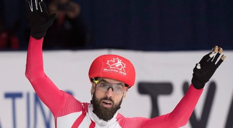 Charles Hamelin wins 1,000m event at short-track worlds in Montreal