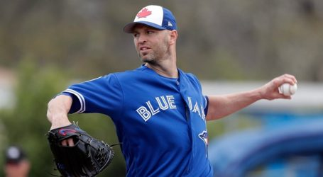 Jays pick J.A. Happ as opening day starter against Yankees