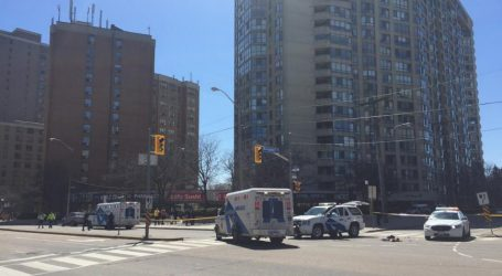 Van strikes as many as 10 pedestrians at Yonge and Finch, police don't know motive or cause of crash