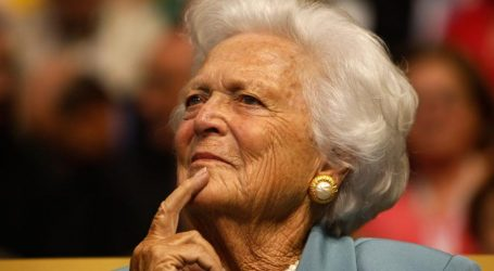 Presidents, first ladies praise Barbara Bush for her devotion to the U.S., her family and literacy