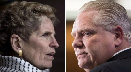Wynne likens Ford to Trump, saying he is a 'bully' who lies