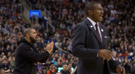 Coach Casey has no issue with Drake courtside, says he loves his passion