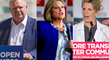 The 3 major party leaders take their campaigns across southern Ont.