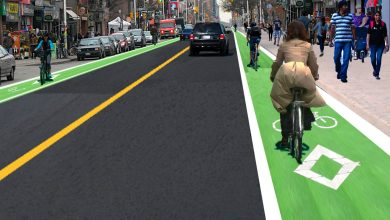 Photo of Bike lanes alongside train tracks could beef up city's cycling network, architects say