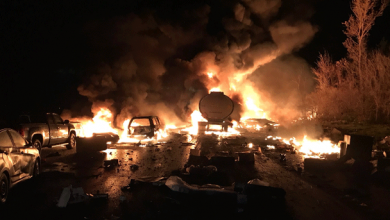 Photo of At least 2 dead after fiery crash on Hwy. 400 south of Barrie