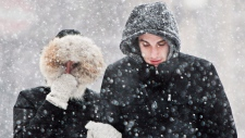 Photo of 'Snow and ice pellets' on their way to Toronto area, Environment Canada says