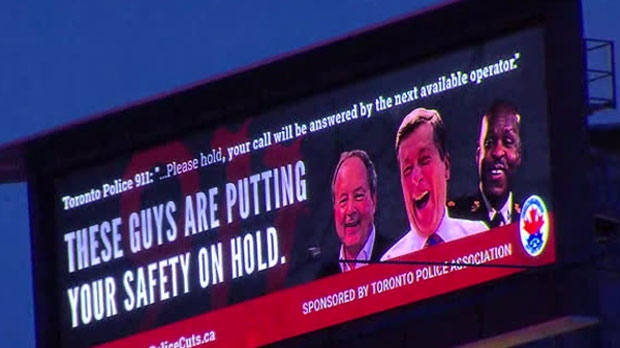 Photo of Police union uses new billboard to slam mayor, police chief, board chair