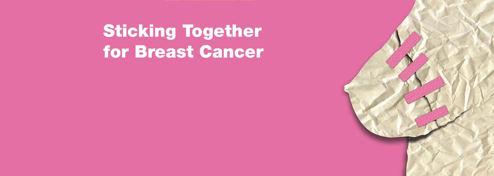 Photo of Sticking Together for Breast Cancer – Gala angaria fundos para cancro da mama