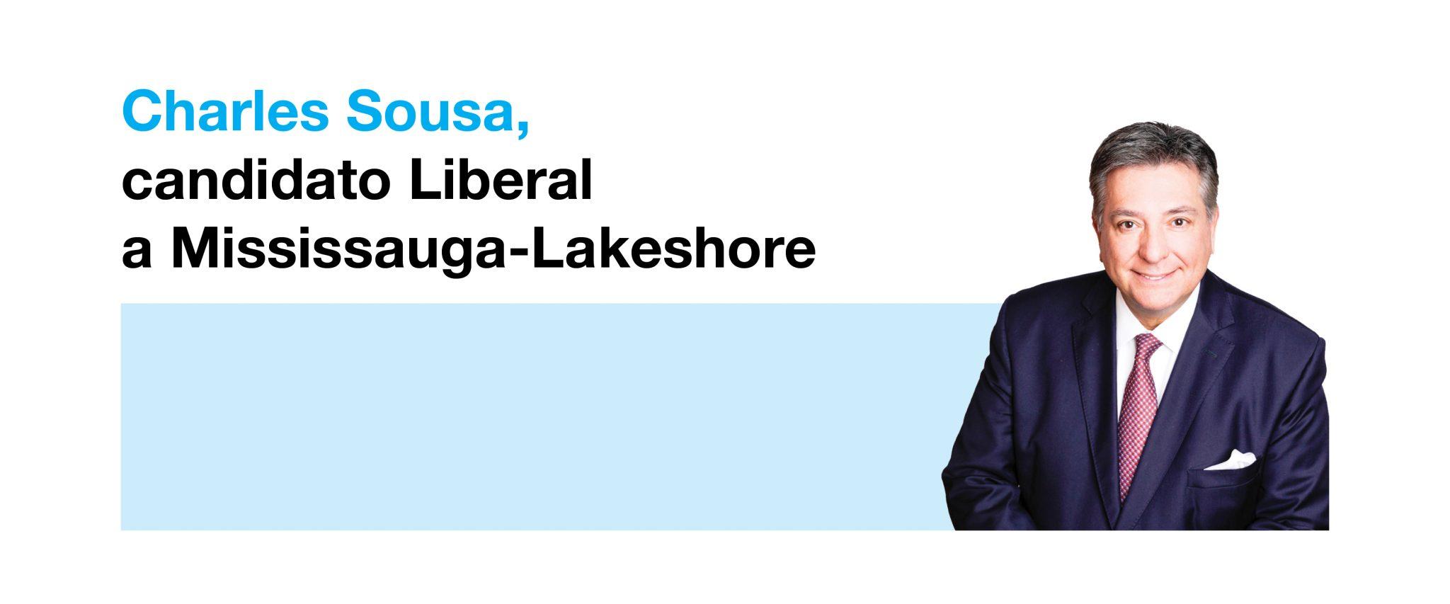 Photo of Charles Sousa, candidato Liberal a Mississauga-Lakeshore