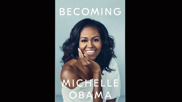 Photo of Michelle Obama unveils cover for upcoming memoir