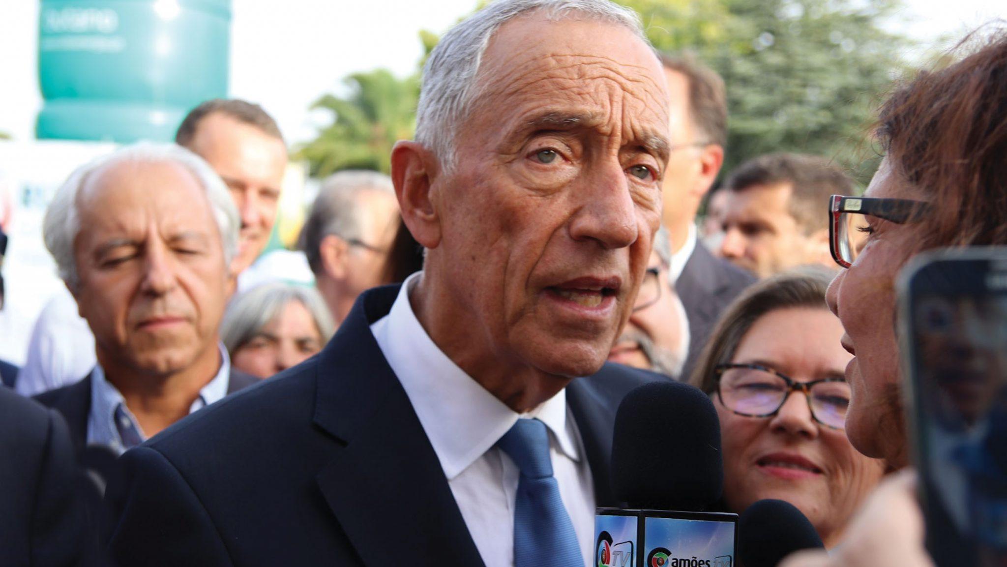 Photo of Marcelo Rebelo de Sousa admitevisita oficial ao Canadá