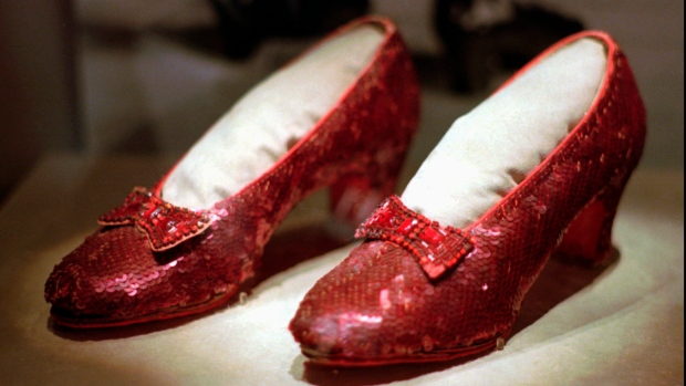 Photo of Feds: Stolen ruby slippers worn in 'Wizard of Oz' recovered