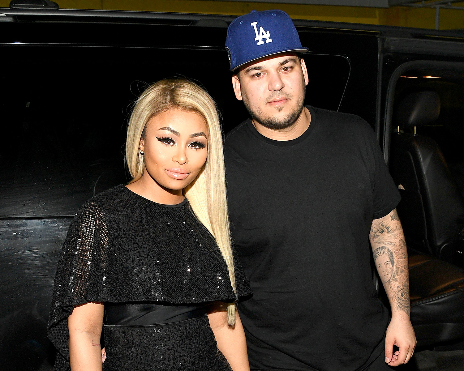 Photo of Confusão entre Rob Kardashian e Blac Chyna