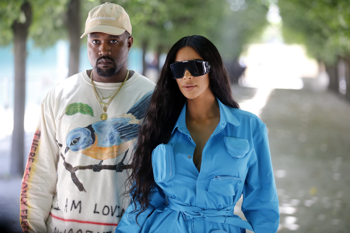 Photo of Kim & Kanye West ajudam nos fogos da Califórnia