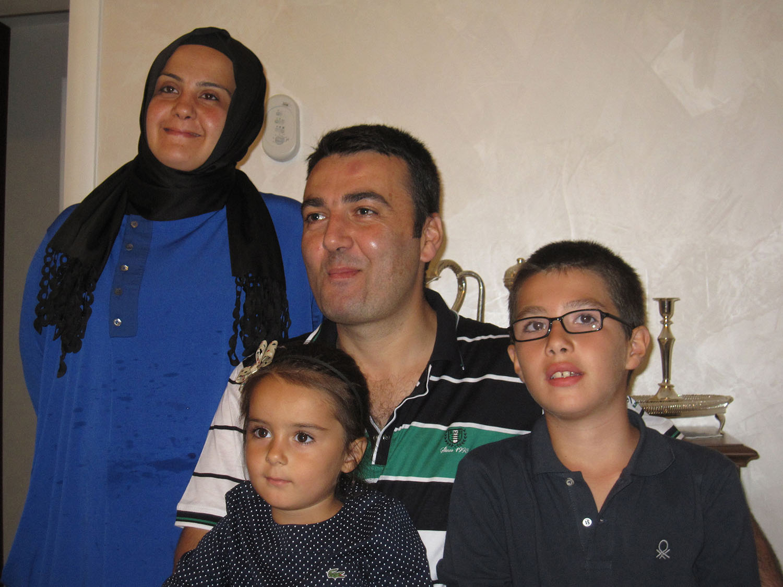 Istambul - familia Turca