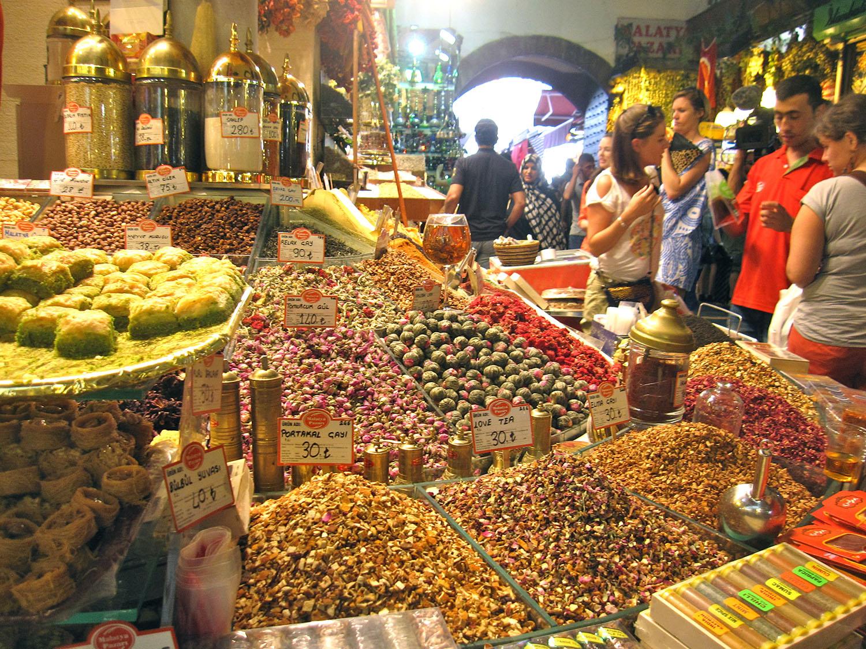 Istambul - Bazar Especiarias
