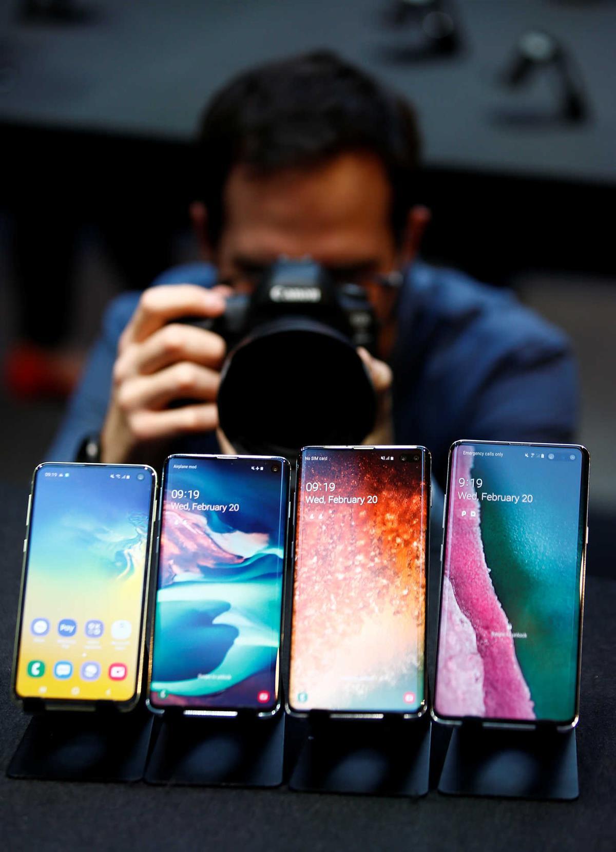 Photo of Partir o telemóvel? Para a Samsung é melhor dobrá-lo