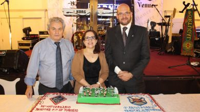 Photo of Peniche C.C. of Toronto e Peniche Os Belenenses Academy sopraram as velas