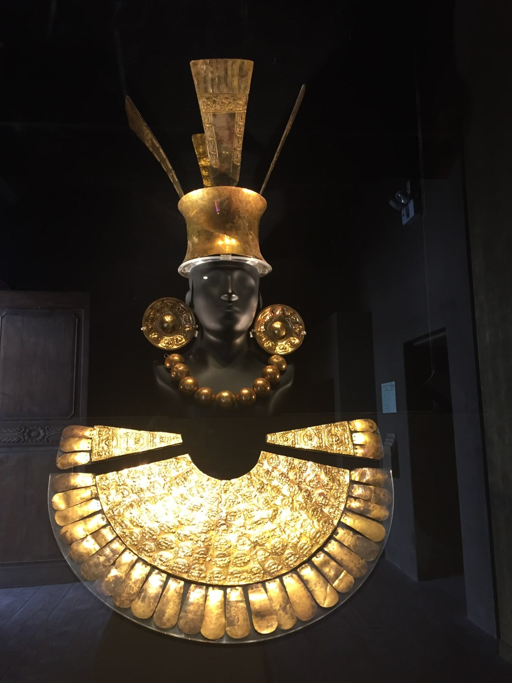 Ouro no Museu Larco