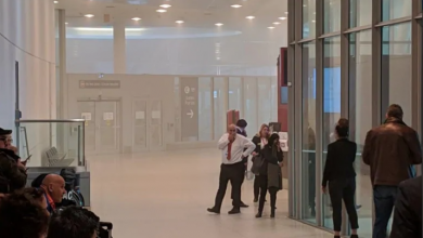 Photo of Travellers urged to check flight status before heading to Pearson after fire at Terminal 1