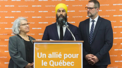 Photo of Singh's Quebec strategy has the NDP fishing in a small pool