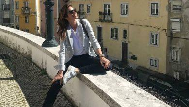 Photo of Cindy Crawford encantada com Lisboa