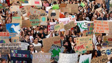 Photo of Milhares de estudantes portugueses na rua em defesa do clima