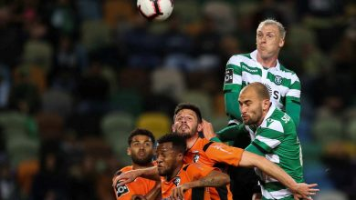 Photo of Entrada frenética do Sporting vale triunfo frente ao Portimonense