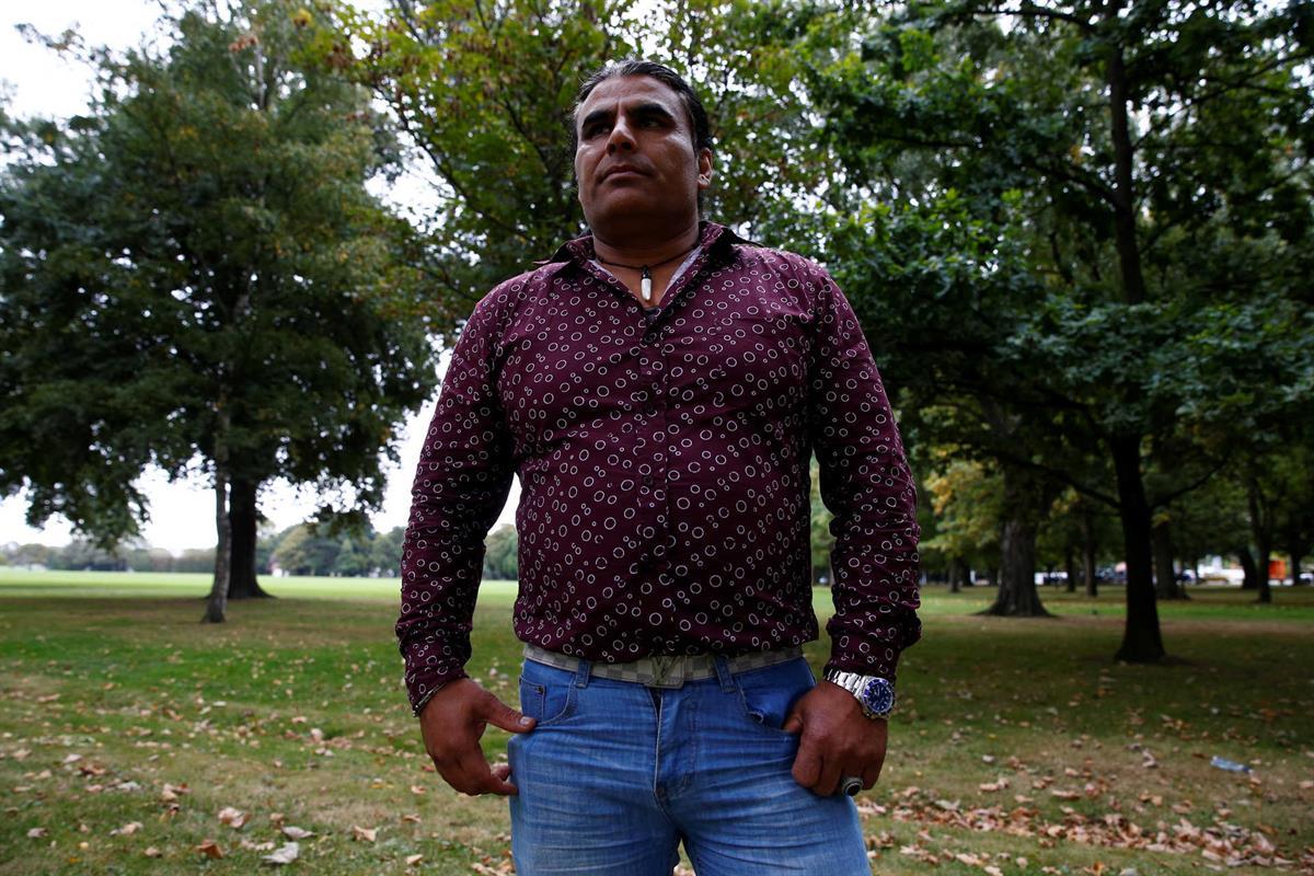 Abdul Aziz, de 48 anos, enfrentou Brenton Tarrant e evitou um massacre maior Foto: Reuters/edgar Su