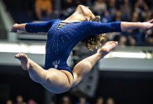Photo of Katelyn Ohashi. A coreografia mudou mas o 10 manteve-se