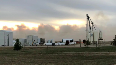 Photo of Biggar, Sask., declares state of emergency after grass fire