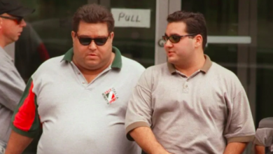 Photo of Hamilton mobster Pat Musitano shot in Mississauga, Ont.