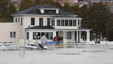 Photo of Firefighters rescue residents as surprise flooding hits Beauceville, Que.