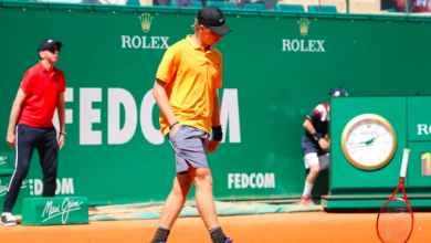 Photo of Canada's Denis Shapovalov falls in first round of Monte-Carlo Masters