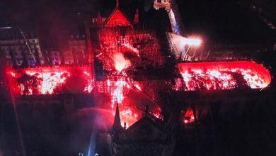Photo of Principal estrutura de Notre-Dame a salvo