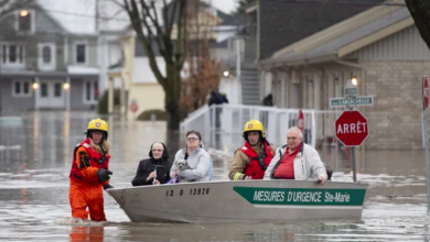 Photo of Hundreds evacuated in Quebec as flooding affects 2,300 homes