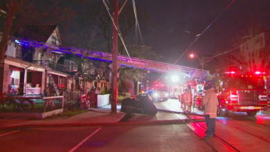 Photo of Man dead in house fire in Toronto's Roncesvalles Village