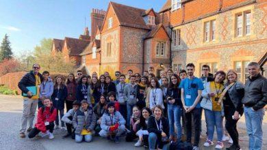 Photo of Alunos da escola Horácio Bento de Gouveia realizam visita de estudo em Londres